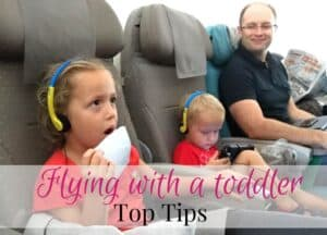 Flying with toddler tips