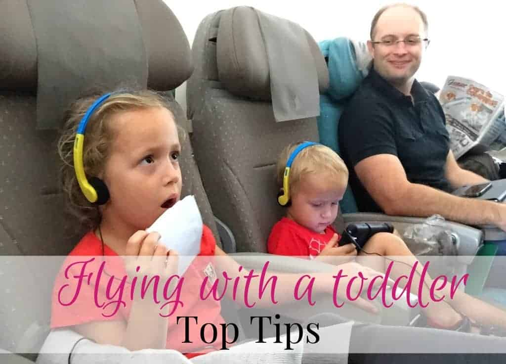 Top Tips For Flying With A Toddler Mum On The Move