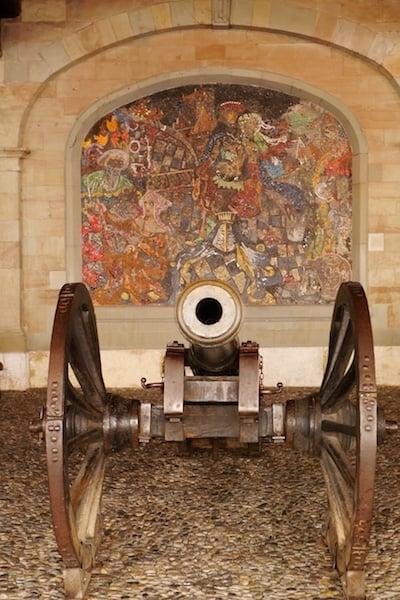 Ancient arsenal Geneva