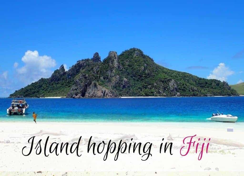 Island hopping Fiji
