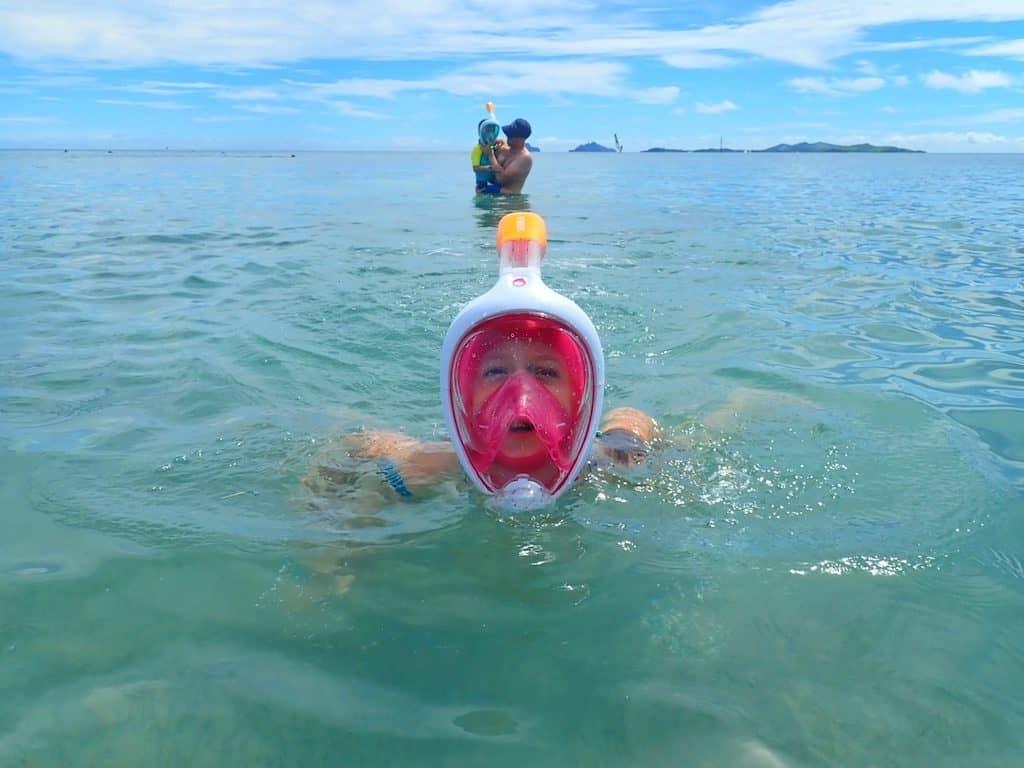 Snorkelling Fiji islands