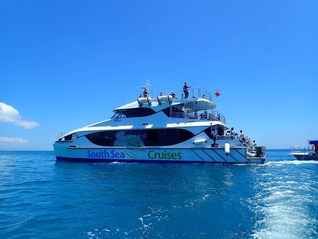 South Sea cruises Fiji