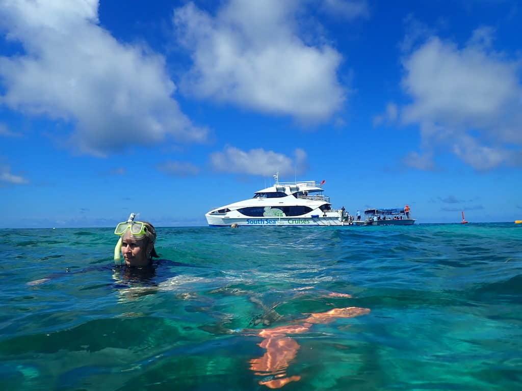 Fiji island hopping tour