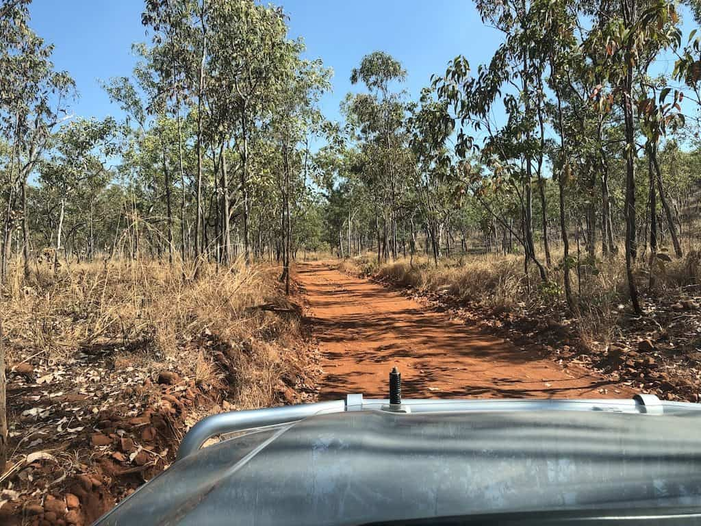 Kakadu roads 4WD