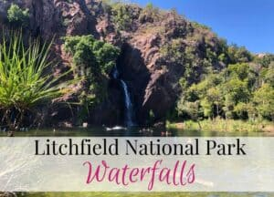 Litchfield national park waterfalls