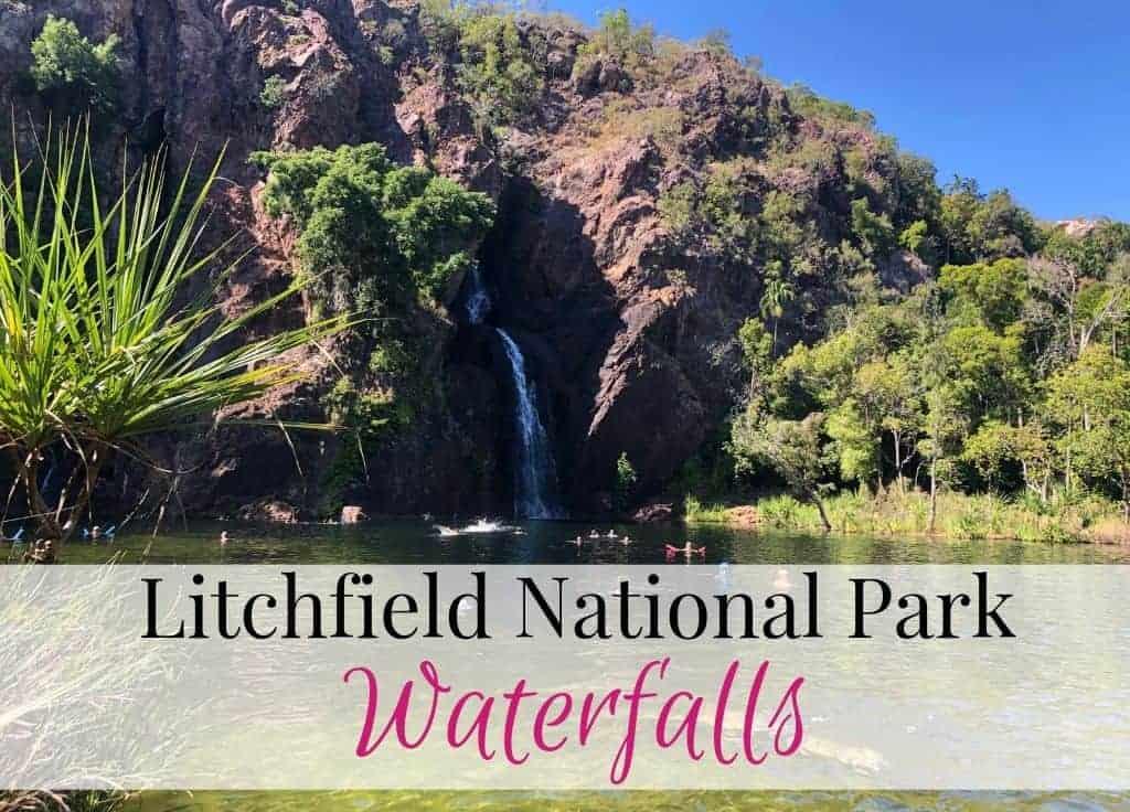 Litchfield national park waterfalls