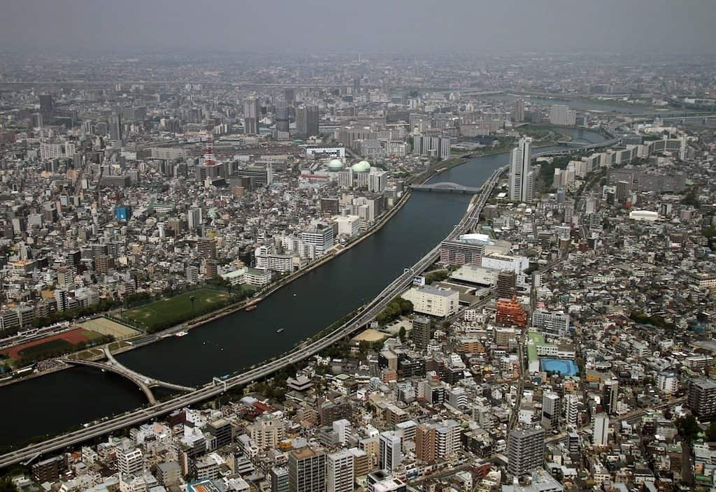 Tokyo Skytree top Tokyo tourist attraction