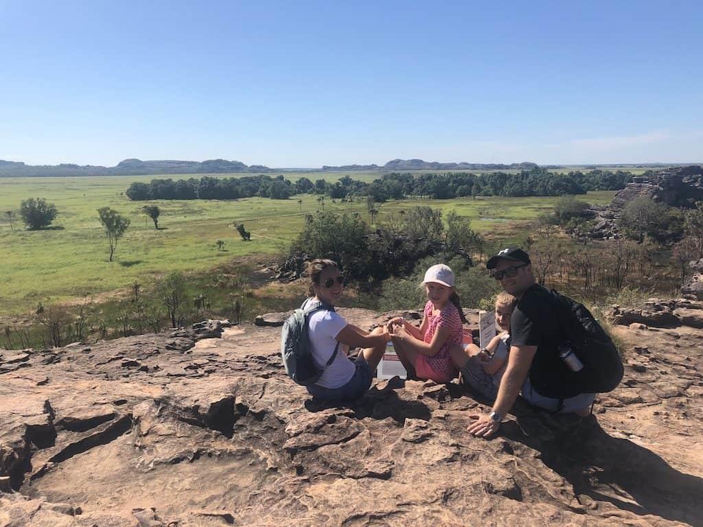 Ubirr Rock lookout