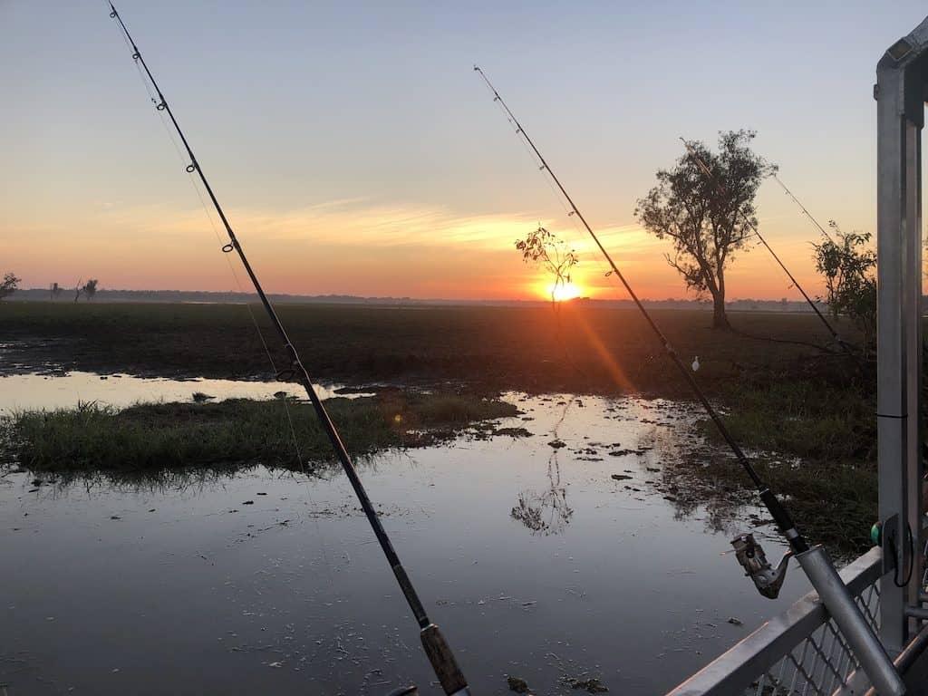 ellow Water Billabong Fishing kakadu