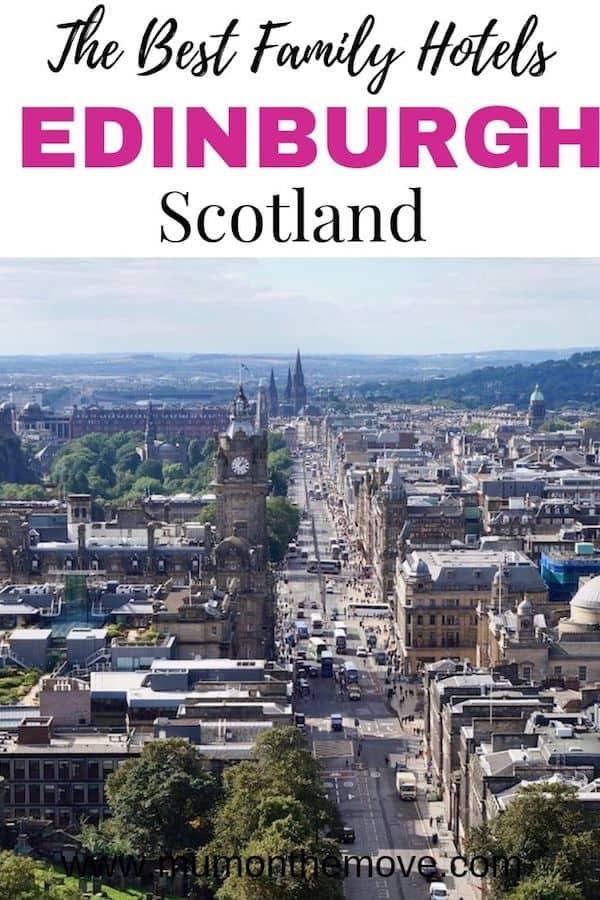 Best family hotels in Edinburgh