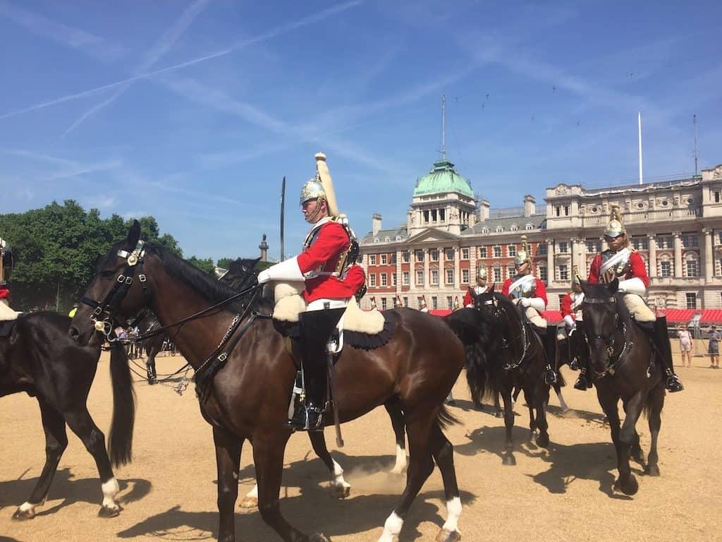 Horse Guards Parade changing guard