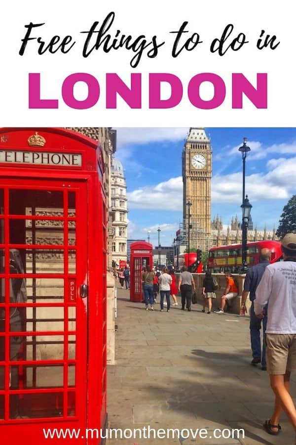 London free things to do