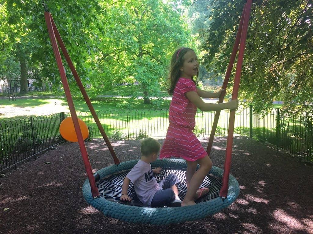 London park playground