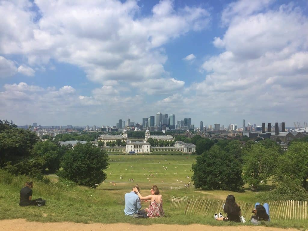 Royal Observatory Greenwich view