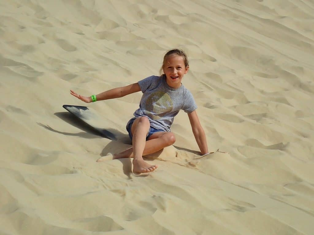 Sandboarding Port Stephens