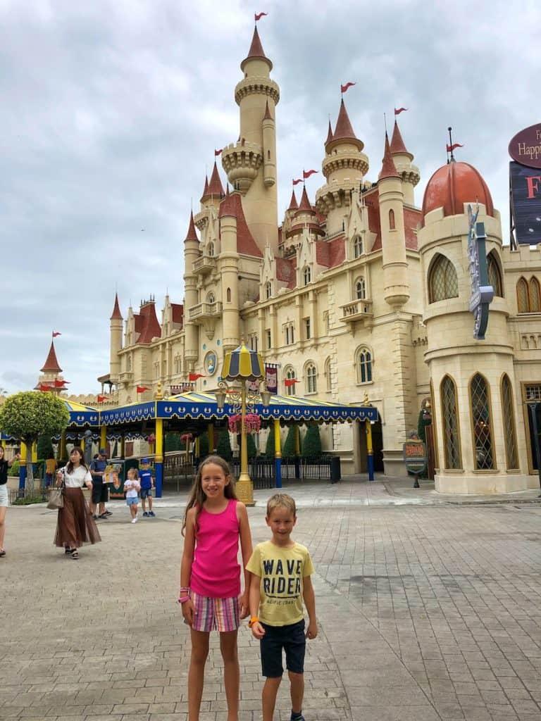 Universal Studios Singapore castle