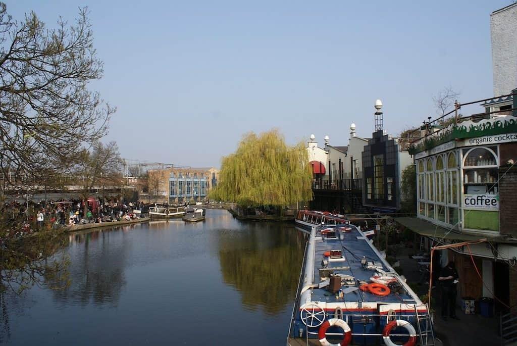 Camden Town Regents Canal
