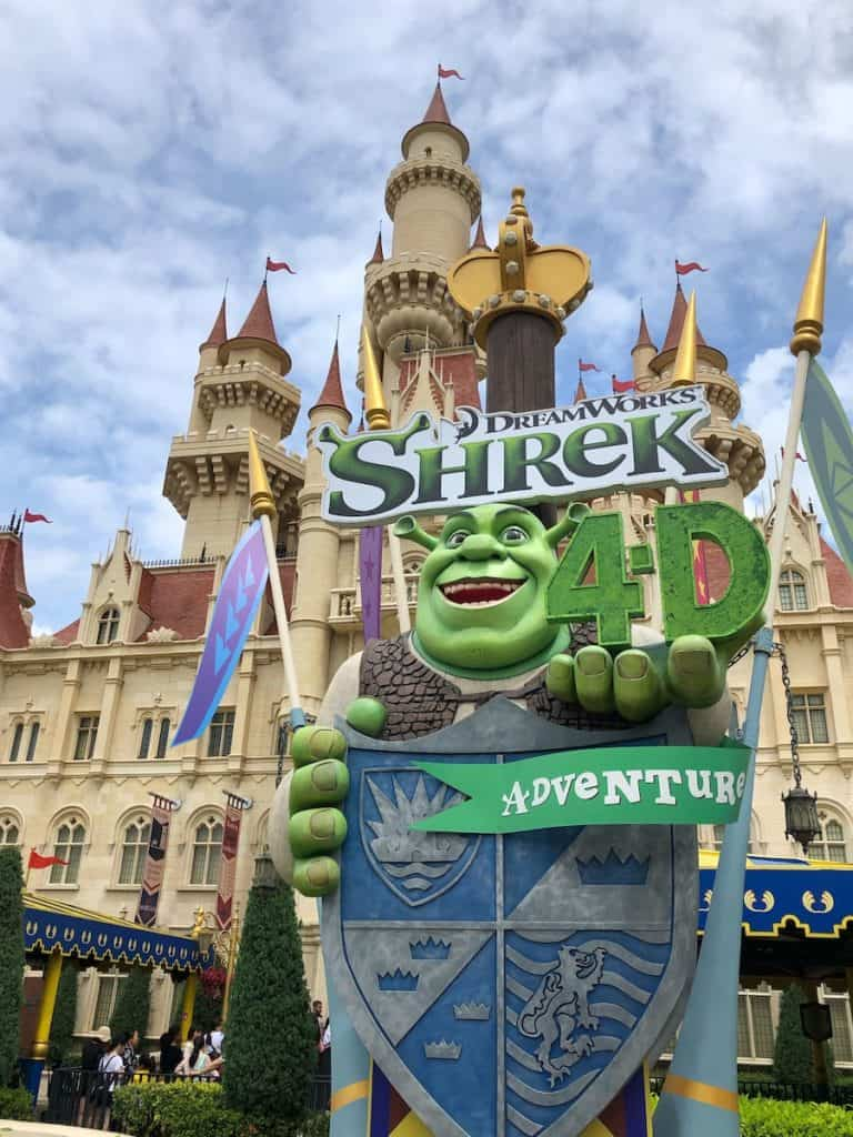 Universal Studios Singapore Shreks Castle