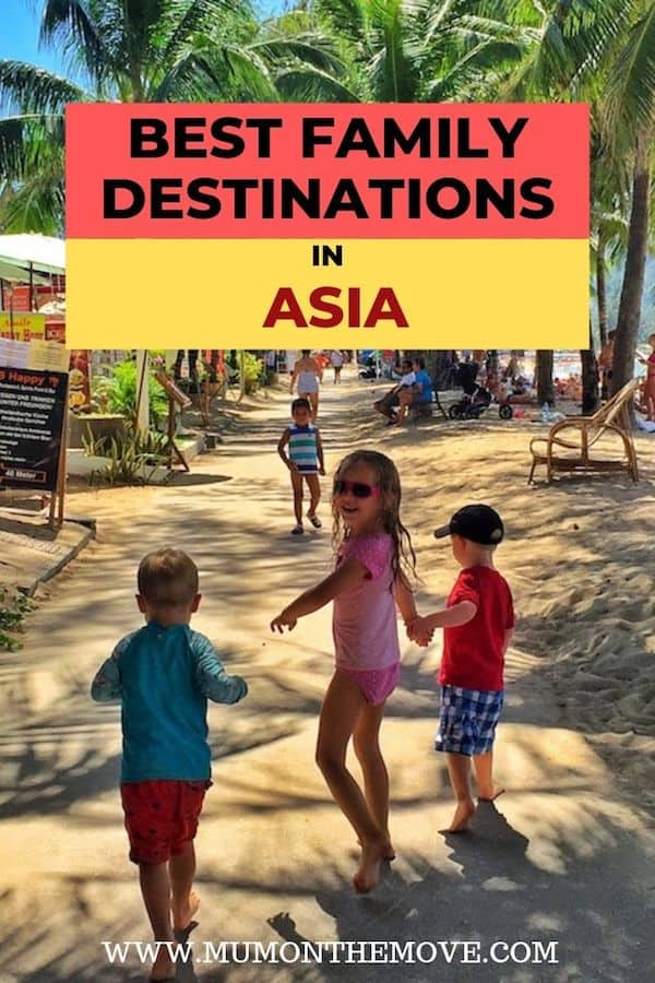 Best family travel destinations in Asia