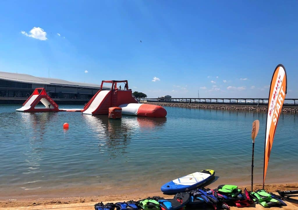 Big Buoy water park Darwin