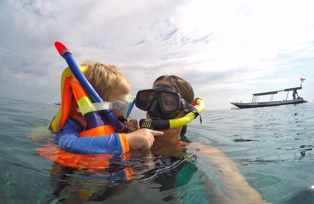 Gili islands with kids