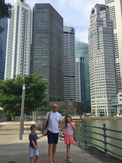 Singapore family friendly destination in Asia