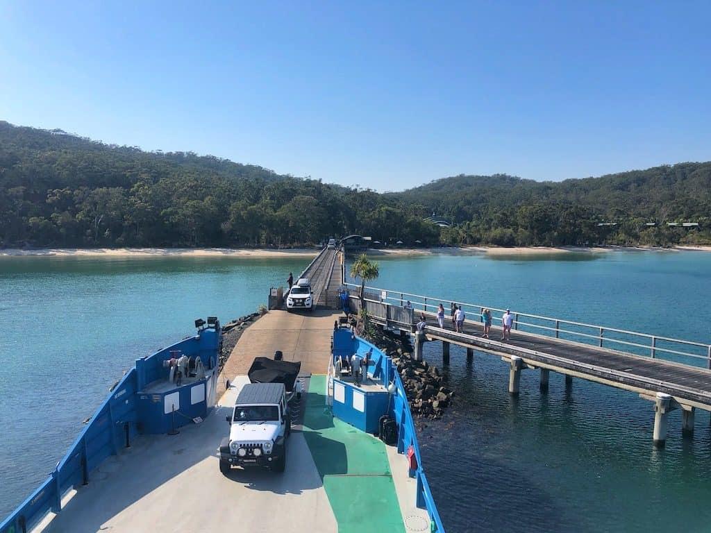 Barge Fraser Island