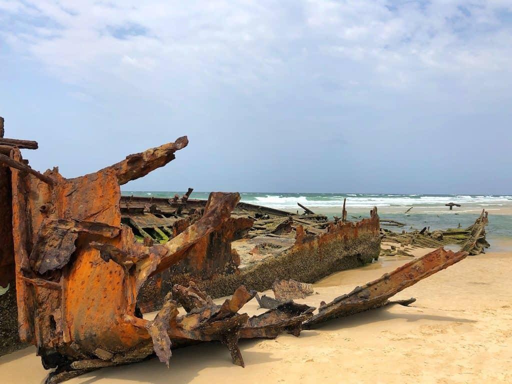 Fraser Island Shipwreck Maheno