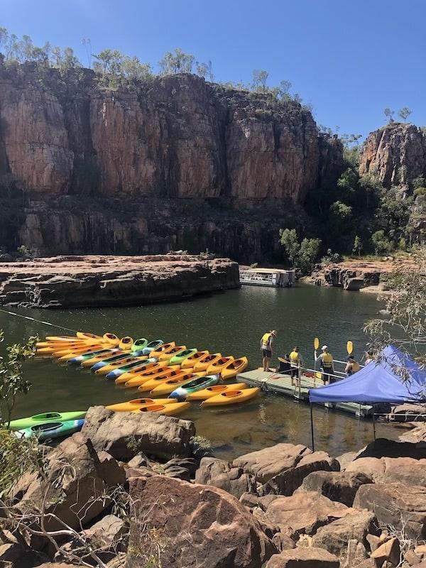 Katherine Gorge kayaking
