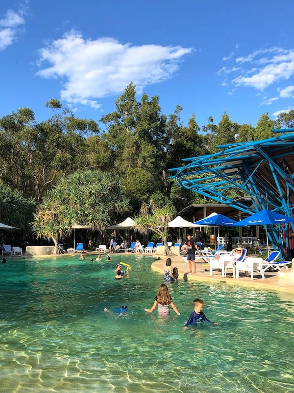 Kingfisher Bay resort swimming pool