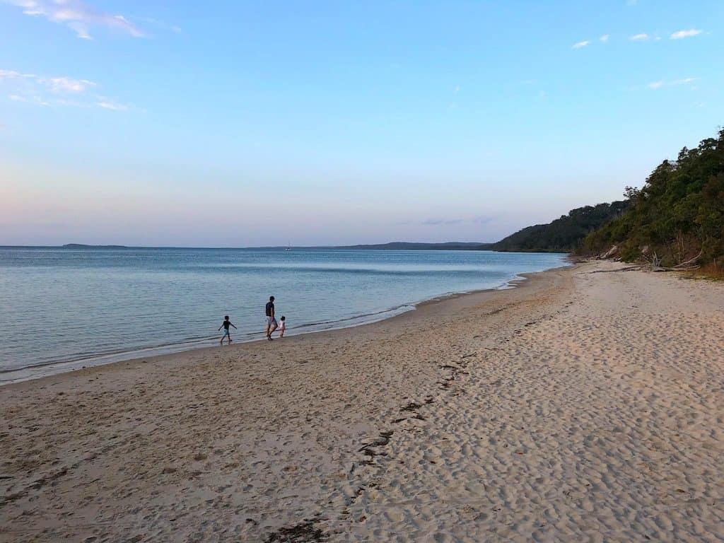 Kingfisher Bay beach