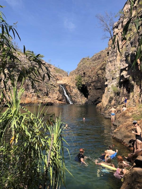 Maguk Falls Kakadu