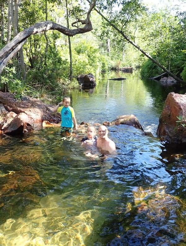 Walker Creek Litchfield National Park