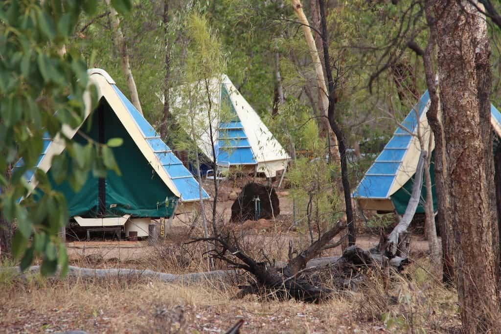 Undara camping village