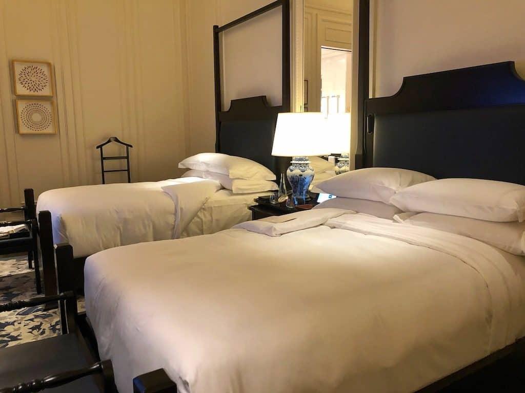 Palm court suite Raffles Hotel