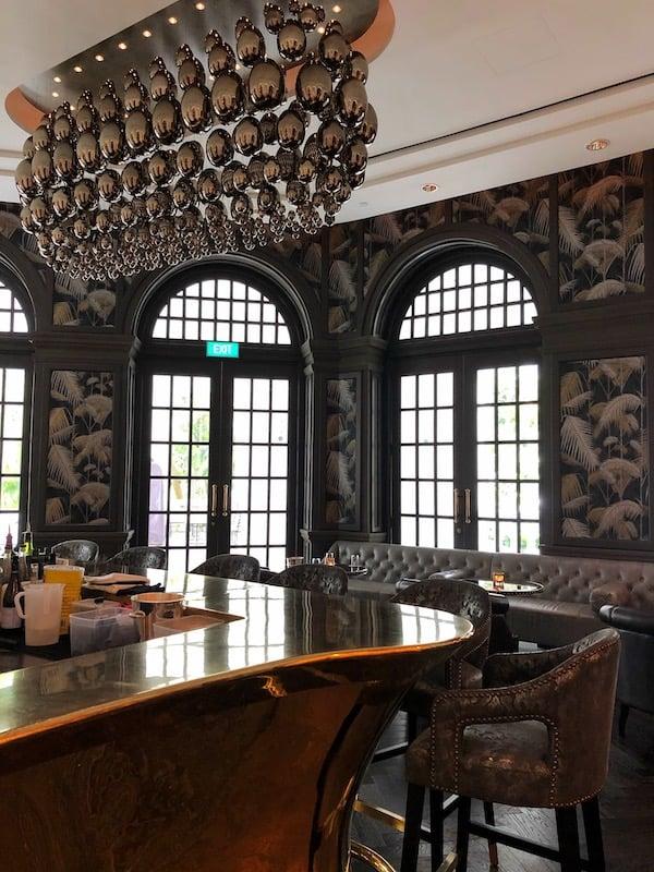 Writers Bar Raffles hotel