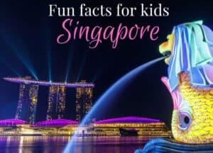 Singapore facts for kids