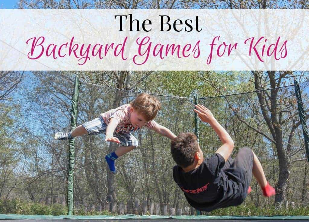Best Backyard games for kids