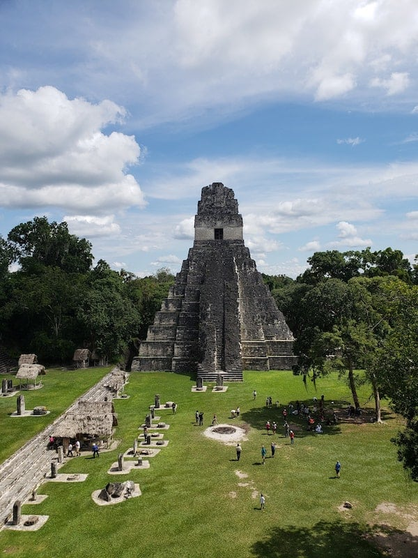 Tikal landmark virtual tour