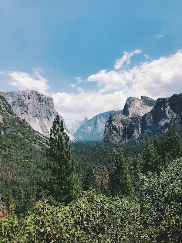Yosemite virtual tour
