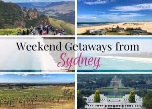 Weekend Getaways from Sydney
