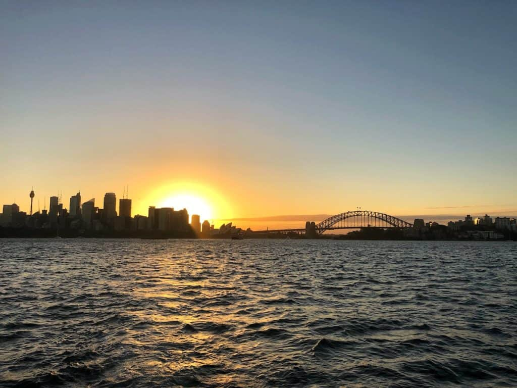 Sydney Harbour sunset cruise