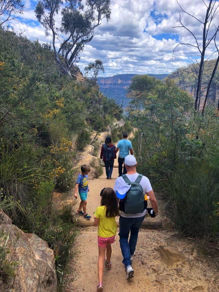 Three Sisters Blue Mountains walk