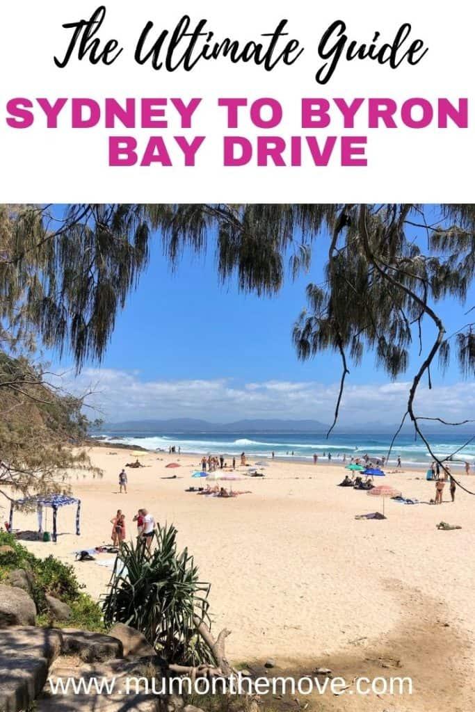 Sydney to Byron Bay Drive Pinterest  pin