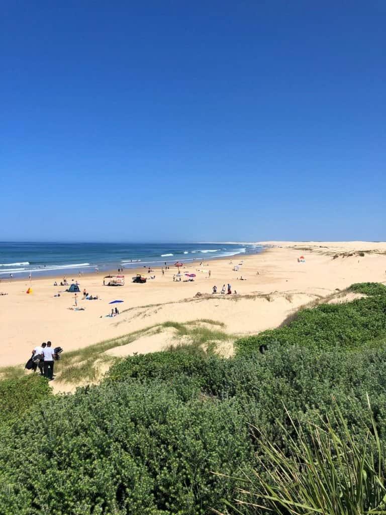 Anna Bay Beach in Port Stephens