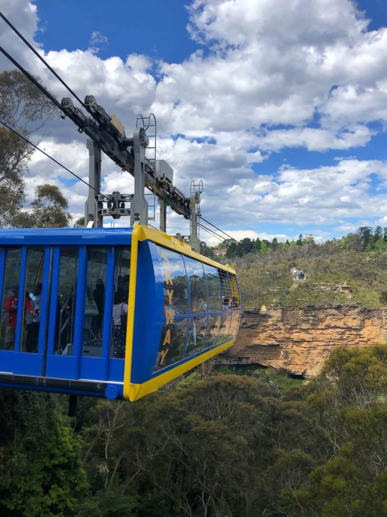 Scenic World Skyway Cable car