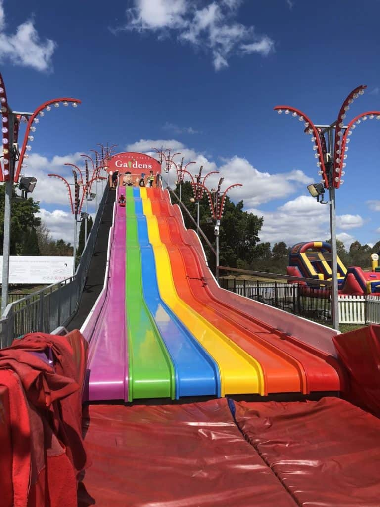 Super slide at Hunter Valley Gardens