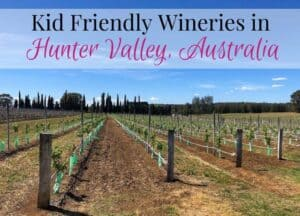 Kid Friendly Hunter Valley Wineries