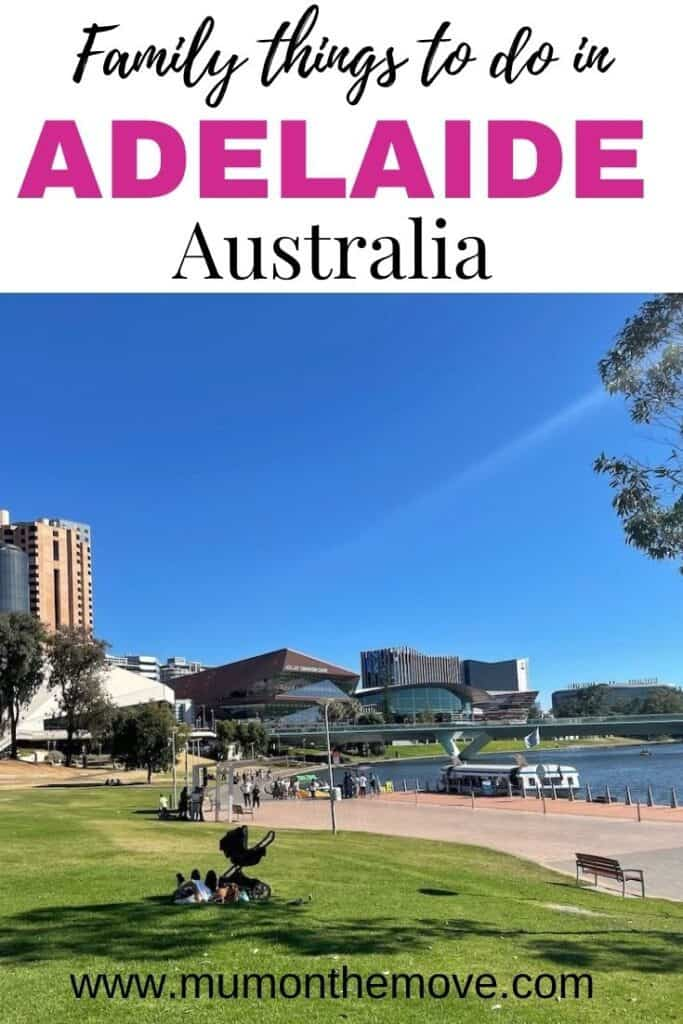 Adelaide with kids Pinterest pin