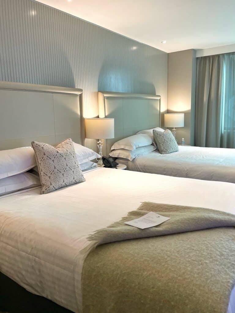 Bedroom at Mayfair hotel Adelaide